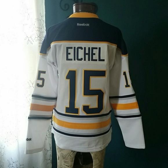 huge discount aea14 541ae Buffalo Sabres jersey Jack Eichel